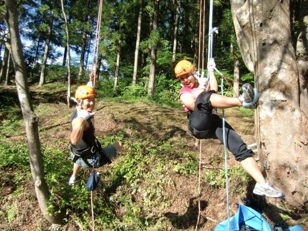 【群馬県みなかみ・木のぼり】地上10m 樹上の世界を体感しよう!木のぼり体験