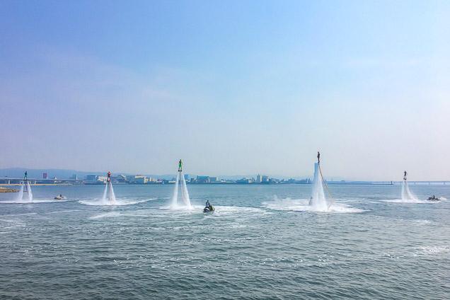 長崎・大村湾・フライボード(体験時間20分)