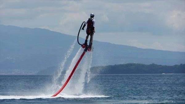 【長崎・大村湾・フライボード】フライボードとマリンレジャーを楽しむコンボプラン!