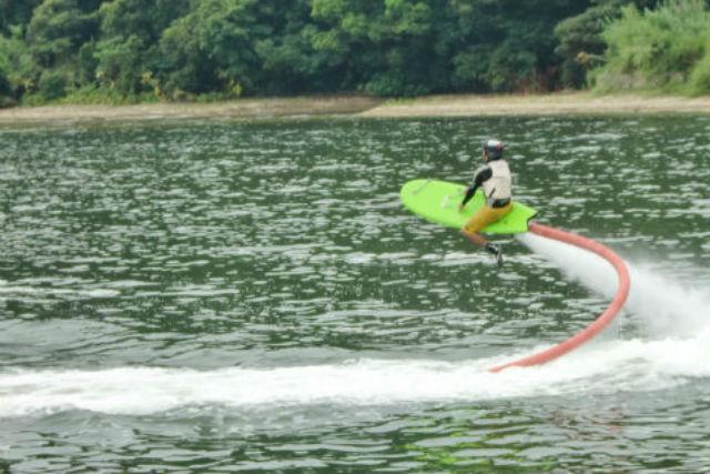 【長崎・マリンスポーツ】ジェットボードサーフにマリンレジャーの超楽しいセット!