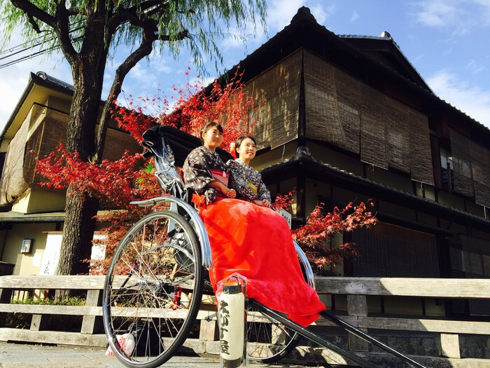 【京都・東山・人力車・120分貸切】東山エリアを北から南まで満喫!人力車で風情ある旅路を