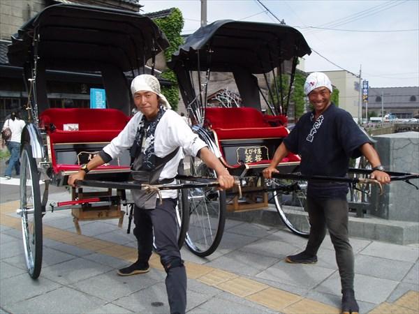 【北海道・小樽・人力車・30分貸切】レトロな街並み。港町の風を感じる小樽散策プラン