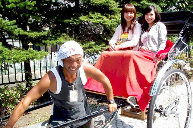 【北海道・小樽・人力車・60分貸切】大正浪漫のレトロな街並みを、人力車で堪能する旅