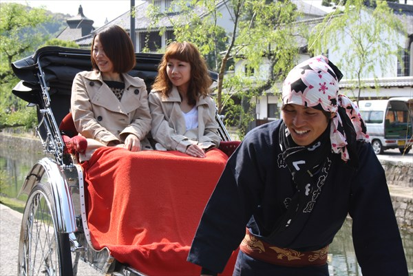 【岡山・倉敷・人力車・30分貸切】貸し切りプランで倉敷をもっと満喫しよう!