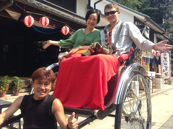 【40分】散策や拝観も楽しめる!人力車で巡る博多・山笠の旅