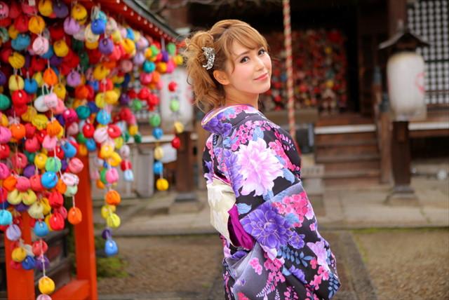 【京都・着物レンタル】襦袢から草履まで5点レンタルセット!京都を着物で美しく旅しよう