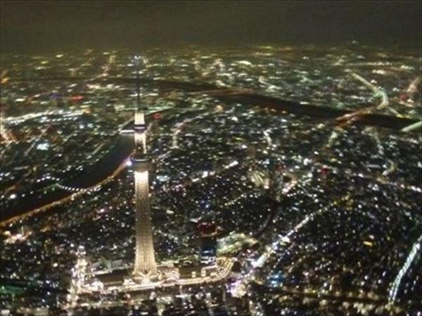 【乗合】TOKYOナイトクルーズ(夜コース) ~目下に広がる宝石のような夜景に感動~