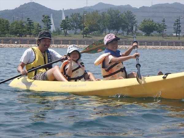 【1日】海を漕ぎ陸を走る、小鳴門海峡ウチノ海周辺1日カヤック&バイクツアー