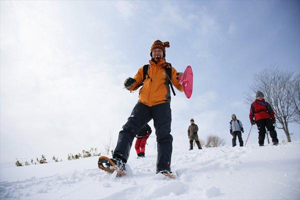 【1時間or2時間】まずは気軽に体験★円山ハイキングスノーシュープラン