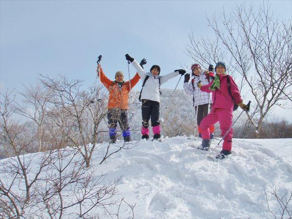 【初心者・小学生以上OK!】スノーシューで初めての雪山散策★ランチ付