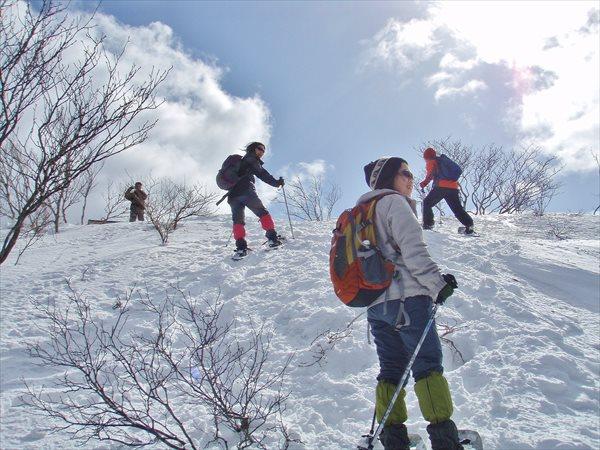 【1日】初・中級の方に!蛇谷ヶ峰(比良山系)スノーシュー☆ランチ付
