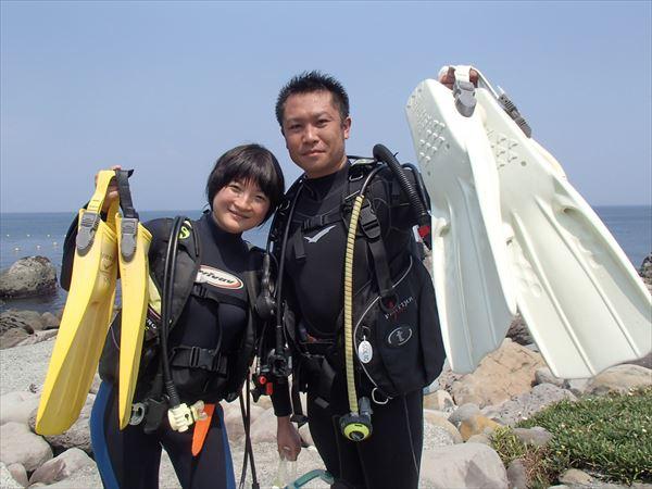 静岡・熱海・体験ダイビング(2時間30分・お得なクーポン2種類あり)