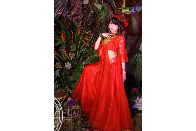 【東京都押上・変身写真・アルバム】2着のドレスで変身!あでやかに装う薔薇プラン