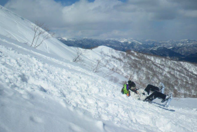 【岐阜大日岳・スノーシュー】ゴンドラから見る冬景色!奥美濃の長良川源流を目指そう