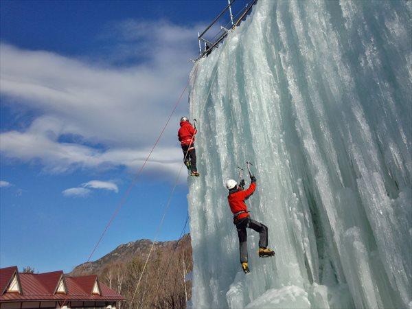 【1日】人工氷壁にチャレンジ!初心者歓迎のアイスクライミング体験!