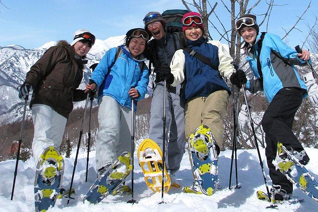【群馬県みなかみ町・スノーシュー・半日】冬景色と雪あそびでリフレッシュしよう!