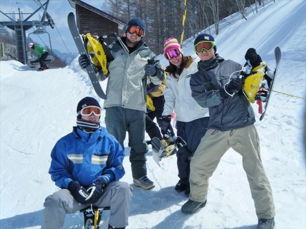 【1日・ランチ付き】スキーポッカールを遊びつくせる1日体験プラン