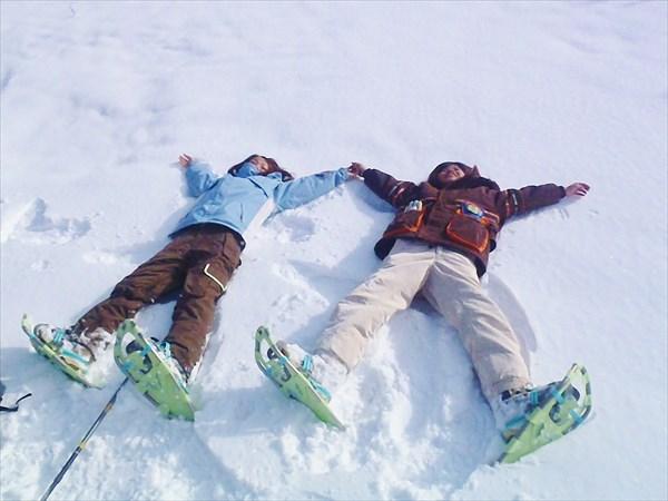 【1日・ランチ付き】みなかみの冬景色を楽しもう!スノーシュー1日プラン