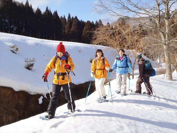【1日】生杉(おいすぎ)原生林スノーシューハイキング★初心者コース