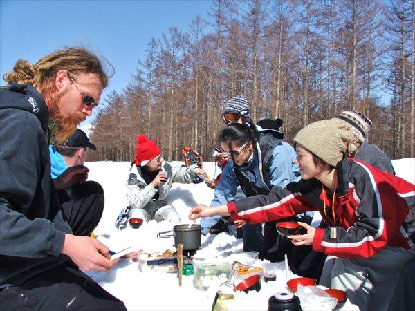 【長野・白馬・スノーシュー】雪景色の中でランチ!1Dayプライベートツアー