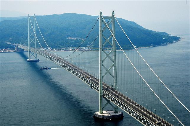 【セスナ・明石大橋・約18分】セスナで世界最長の吊橋を見に行こう!明石大橋コース