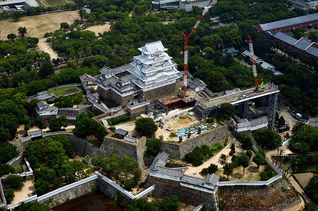 【セスナ・姫路城・約53分】セスナから眺める世界遺産!姫路キャッスルコース