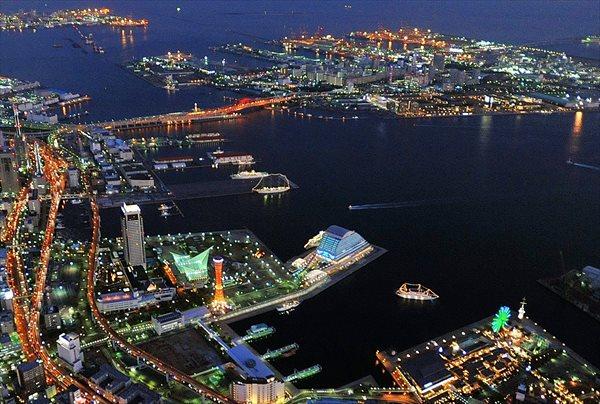 【ヘリコプター遊覧・約10分】神戸ベイエリアの夜景を満喫!ロング遊覧プラン