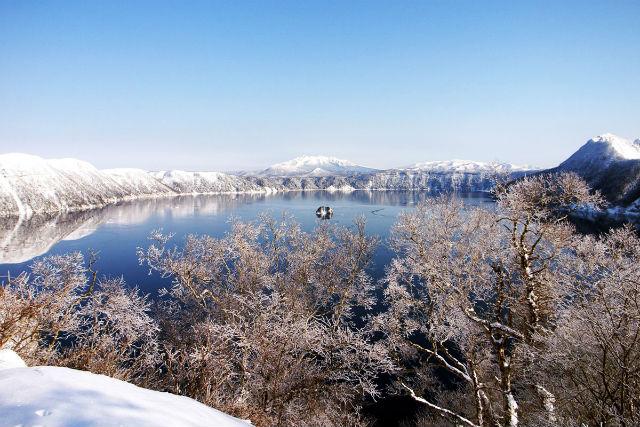 【2時間】摩周湖ホワイトヒルトレック・スノーシュープラン
