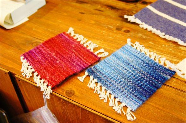 根津駅から徒歩6分!織物体験でコースター・ミニマット・マフラー作りに挑戦