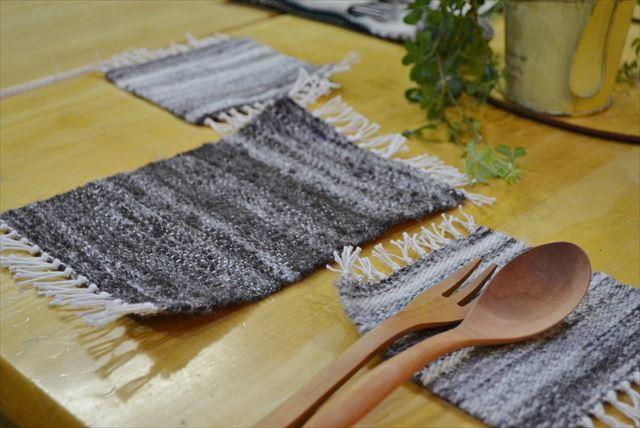 【台東区・羊毛つむぎ&織物体験・全2回】原毛からミニマットorコースターを作ろう