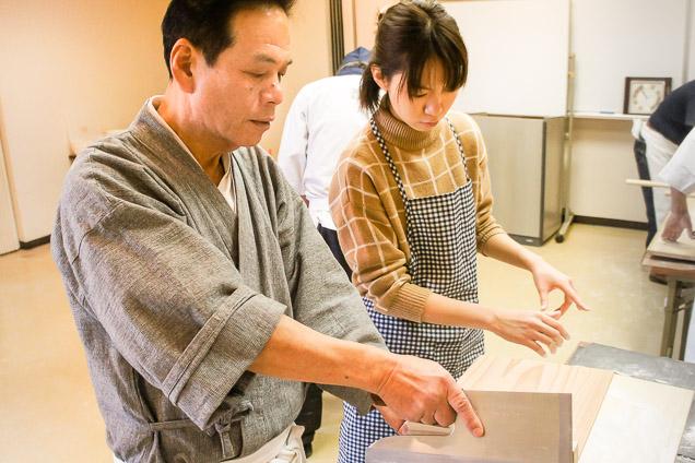 東京・湯島・そば打ち(日本蕎麦准学士・資格取得)