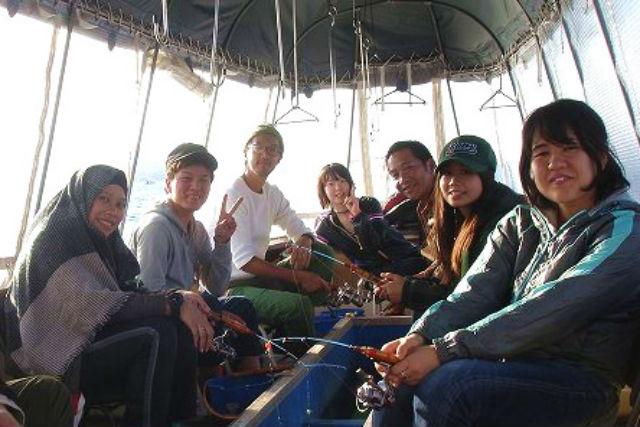 【山梨・山中湖・ワカサギ釣り】団体のお客様大歓迎!10人1組ワカサギ釣りプラン