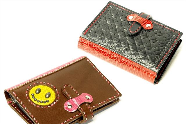 【愛知・レザークラフト体験・20ポケットカードケース】ポイントカードや診察券の収納にぴったり!