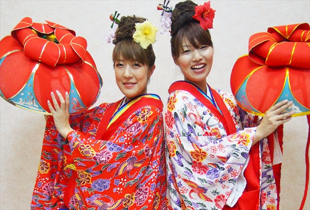 【沖縄那覇・琉装体験・約15分】リーズナブルに気軽に体験!ちゅらコース