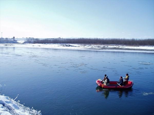 【11月~3月】十勝川の冬を体感!ボートで巡る 冬のネイチャーツアー