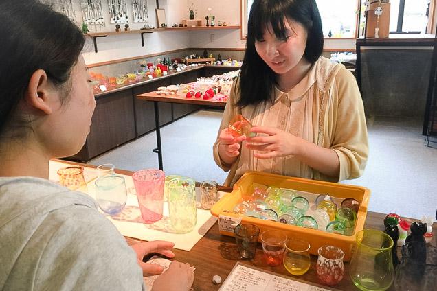 栃木・日光・3歳から体験できる吹きガラス(20分)