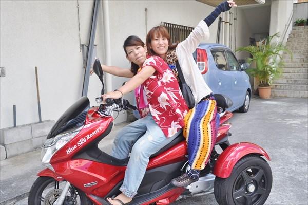 1時間からレンタルOK!沖縄の風を感じよう!レンタルトライク&レンタルカート