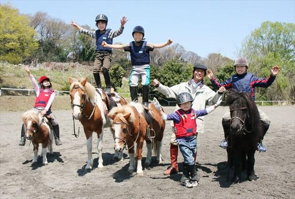 【群馬赤城・乗馬体験】体験乗馬とパカパカ散歩(外乗)を一度に楽しめる、乗馬満喫プラン!