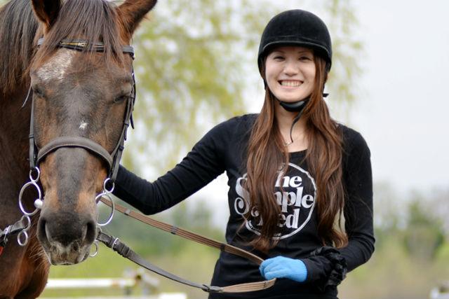 【群馬赤城・乗馬体験】初心者歓迎!馬の背中に揺られ、のんびり体験乗馬と外乗ができる