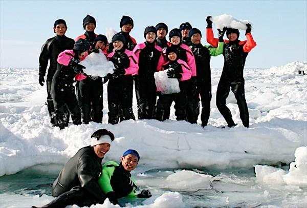 【 流氷遊ウォーク 】流氷の海を楽しもう!経験豊富なガイドが案内します