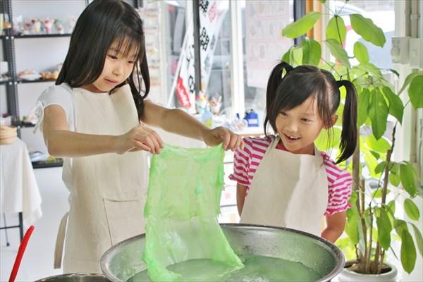 【福岡・食品サンプル作り・土日祝日】ロウで作る食品サンプル!レタスと天ぷらをつくろう!