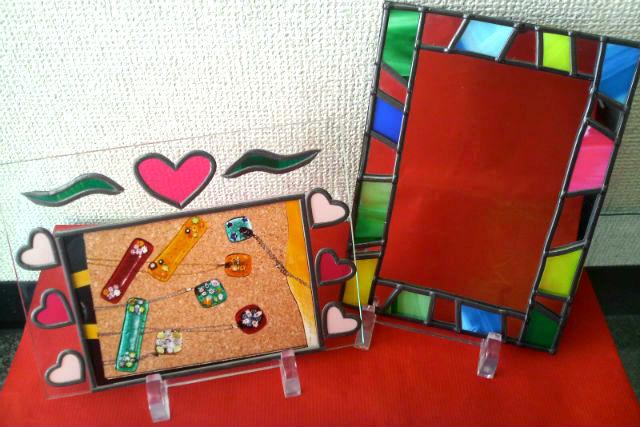 【小樽・ガラス細工】小樽ガラスをプチ体験!キットを使って作るステンドグラス風作品