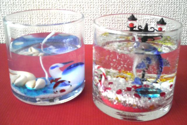 ミニチュアガラスで世界を表現。【 ジェルキャンドル制作体験 】
