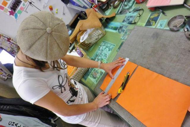 【兵庫・姫路市・レザークラフト体験】好きな物を作れる、レザークラフト体験教室