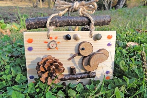 【 木工・デコレーション体験 】親子で楽しもう!自然の素材を使った壁飾りづくり