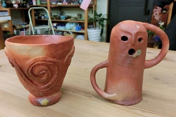 【手びねり】人形や、表札なども作れます。陶芸を自由に楽しもう!