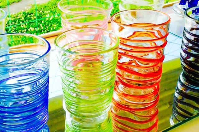 千葉・鴨川・吹きガラス(60分・グラス・花瓶など)