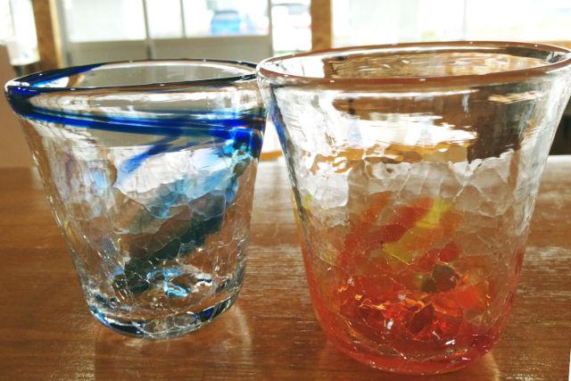 北海道・札幌駅より30分・吹きガラス(30分・グラス・小鉢など)