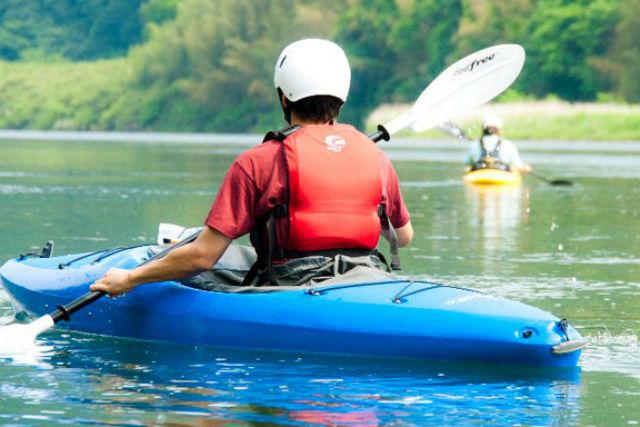 【茨城・那珂川・1日・カヤック】中級者向けプラン!那珂川でカヌーツーリングを楽しもう!