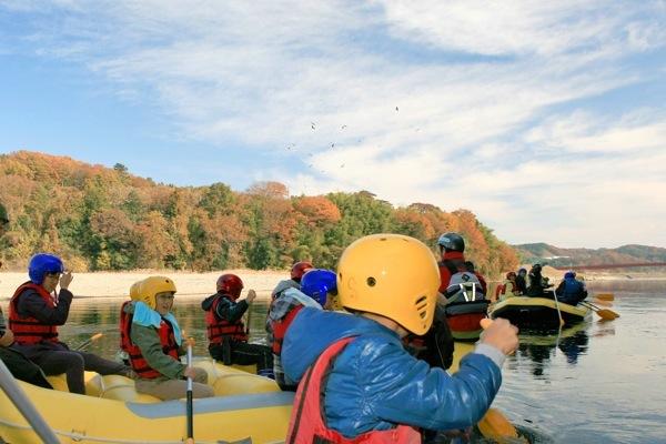 【半日】小学生からOK!那珂川を満喫!ファンボート川下り(6km)